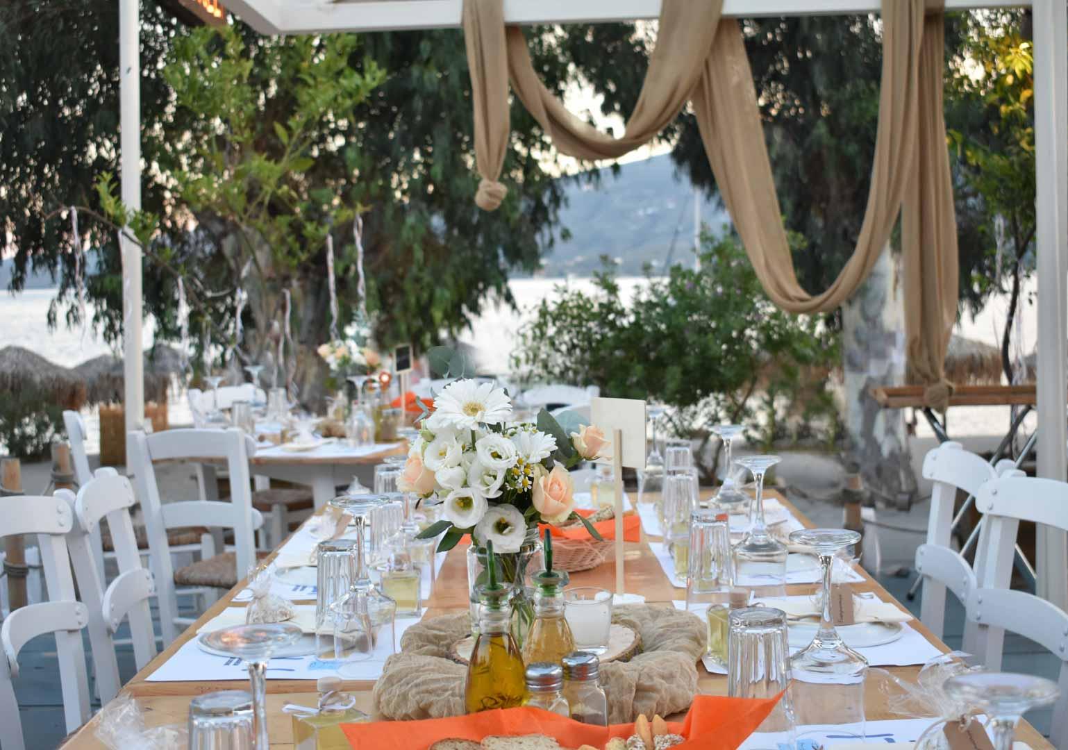 Γάμος στο Εστιατόριο Ασκέλι στον Πόρο
